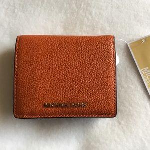 🆕Michael Kors Mercer Carryall Card Case Wallet